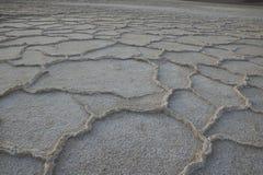 Planos de la sal de Badwater fotos de archivo