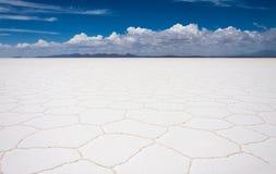 Planos de la sal de Uyuni Imágenes de archivo libres de regalías