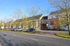 Planos en Cambourne, Cambridgeshire Fotos de archivo