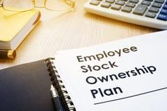 Planos ESOP da posse conservada em estoque de empregado fotos de stock royalty free