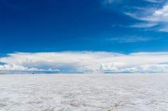 Planos infinitos de sal Foto de Stock Royalty Free