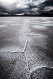 Planos secados de sal Foto de Stock