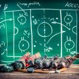Planować wygrywać w lodowym hokeju zdjęcia royalty free
