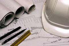 Plans 1 de construction Photo stock