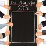 2015 plans Photos libres de droits