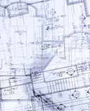 Plans. Abstract image of  house  plans Stock Images