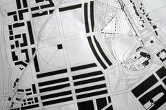 Plans architecturaux photographie stock libre de droits