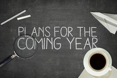 Plans for the coming year concept Stock Image