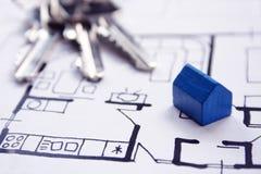 Plans d'architecture Photo libre de droits