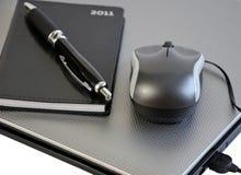 Plans de bureau pendant l'année 2011 Image libre de droits