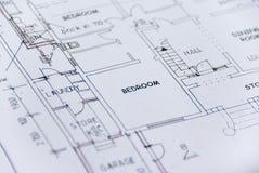 Plans de construction images stock