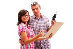 Plans de s de couples heureux ' Images libres de droits