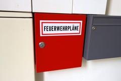 Plans des sapeurs-pompiers images stock