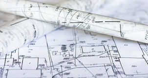 Plans and maps Stock Images