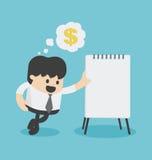 Plans to make money Stock Image