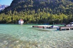 Plansee, λίμνη Αυστριακός 5 Στοκ φωτογραφία με δικαίωμα ελεύθερης χρήσης