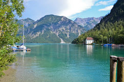 Plansee, lake Austrian 1 Stock Images