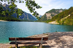Plansee lake Stock Image
