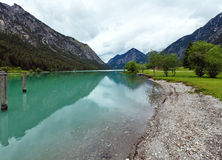 Plansee summer landscape (Austria). Stock Photography