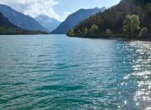 Plansee summer landscape (Austria). Stock Image