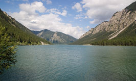 Plansees lake in Tyrolean Alps Royalty Free Stock Photos