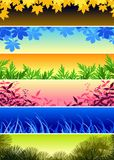 Plant banners Stock Photo