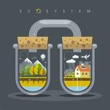 Plant ekosystem Arkivbild