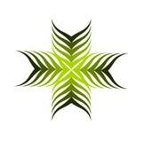 Plant emblem or logo Royalty Free Stock Photo