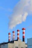 Plant emissions Stock Image