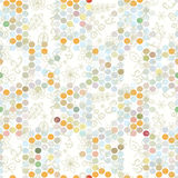 Plant flowers dots and circles Stock Photo
