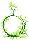Plant in form circle Royalty Free Stock Photos