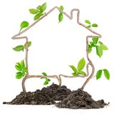 Plant house Royalty Free Stock Photo