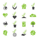 Plant icon Stock Images
