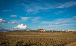 Plant land i Utah arkivfoto