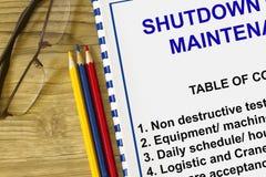 Plant maintenance and maintenance Royalty Free Stock Image