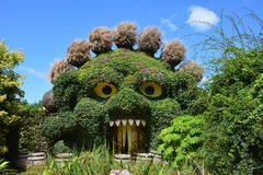 Plant Monsters entrance at Terra Botanica Stock Photos