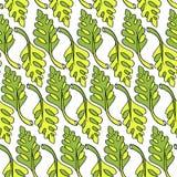 Little dino leafs set royalty free illustration