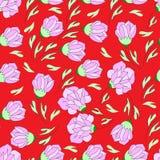 Plant pattern Stock Image
