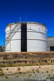 Plant Petroleum. Refinery Industry tank production petroleum and pipeline Royalty Free Stock Image