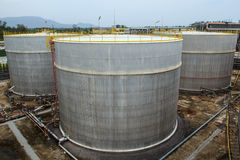 Plant Petroleum. Refinery Industry tank production petroleum and pipeline Stock Images