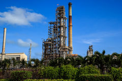 Plant Petroleum. Refinery Industry tank production petroleum and pipeline Stock Photography