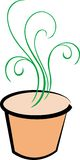 Plant pot Royalty Free Stock Images