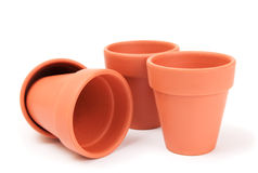 Plant Pots Stock Photo