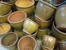 Plant pots Stock Images
