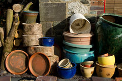 Plant pots. Stock Photos