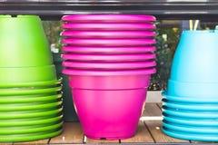 Plant pots Stock Image