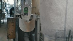 Plant for producing fiberglass rods - manufacture of composite reinforcement -slider shot. Plant for producing fiberglass rods - manufacture of composite stock footage