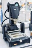 Equipment for the production of printed circuit boards. Plant for the production of electronic devices. Equipment for the production of printed circuit boards Stock Images