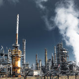 Plant for refining oil Stock Photography