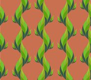 Plant seamless pattern Royalty Free Stock Photography